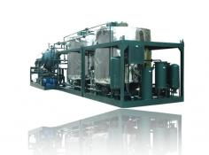 Series LYE Dirty Black Mineral Engine Oil Recycling System