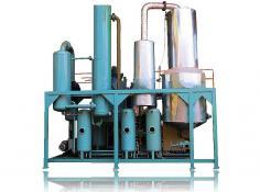 Series FOD-B Waste Oil Distillation System for Base Oil