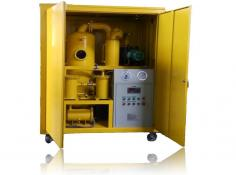 Series ZYD-W Fully Enclosed Double-stage Vacuum Insulating Oil Treatment Plant
